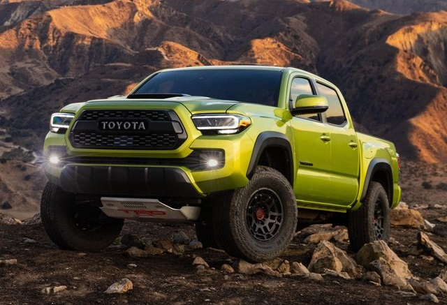 2022 Toyota Tacoma Redesign TRD Pro colors